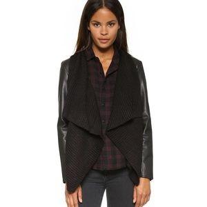 BB Dakota Jackets & Blazers - SARAFINA sweater DRAPE jacket