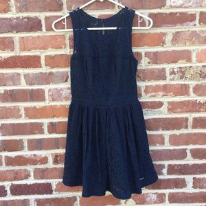abercrombie kids Other - Abercrombie Kids A&F Lace Dress Blue Girls