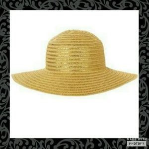 Gymboree Other - Gymboree Gold Straw Hat