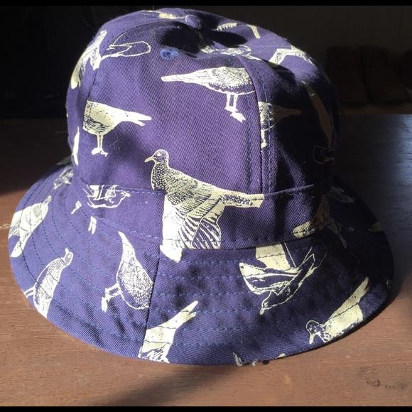 Obey bird pattern bucket hat. M 58b5d72eeaf0303ba71012a8 d2e7399c997