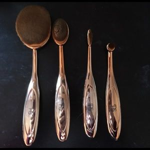 Other - ROSE GOLD MAKEUP BRUSHES