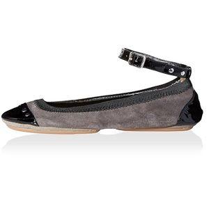 Yosi Samra Shoes - Yosi Samra Women's Ballet Flat with Ankle Strap 7