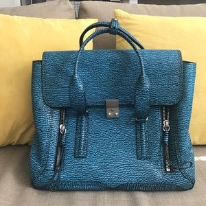 Large 3.1 Phillip Lim Pashli Bag in Blue