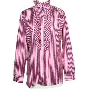 Vineyard Vines Tops - {Vineyard Vines} Pinstripe Polka Dots Button Shirt