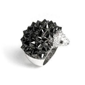 nOir Jewelry Jewelry - nOir hedgehog ring