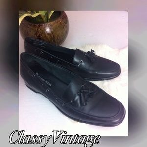 Etienne Aigner Shoes - Etienne Aigner black loafers