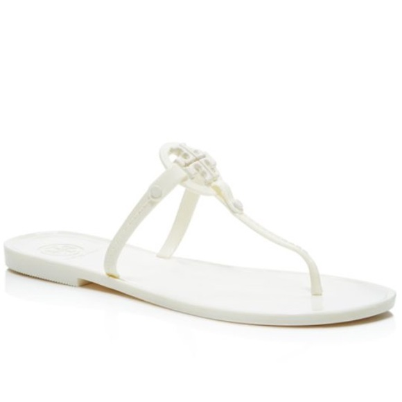 eb8622ef7054c Tory Burch mini Miller jelly thong sandals ivory