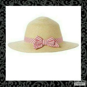 Gymboree Other - Gymboree Bow Straw Hat