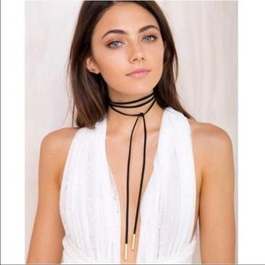 Jewelry - Sexy lariat long choker necklace, brand-new...