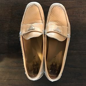 Prada Size 36 Leather Driving Loafers