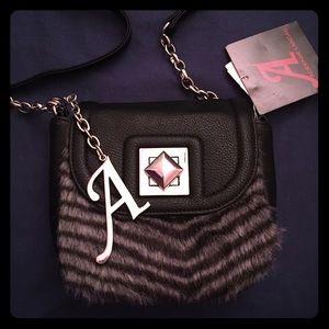 Adrienne Landau Handbags - Faux Fur Crossbody Purse