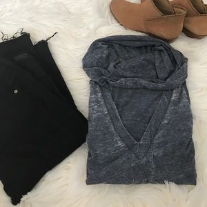 Chaser Tops - Chaser Cowl Neck and V-Neck Top