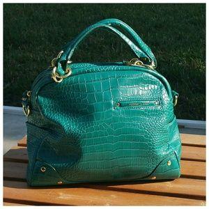 Olivia + Joy Handbags - Olive & Joy Dinamo Green Satchel