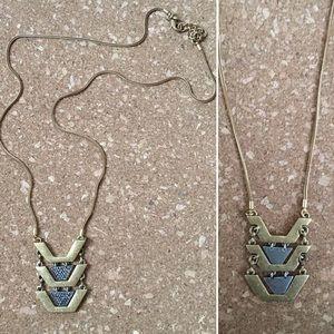 J. Crew Jewelry - Versatile gold/silver/pave pendant