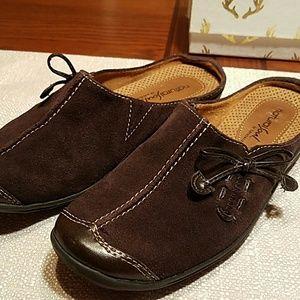 Naturalizer Shoes - Naturalizer Suede Slip on clog