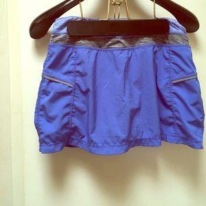Kyodan Dresses & Skirts - Blue skort size P/S. Kyodan brand, gently worn.