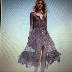 *NWT* Free People Shine Maxi Dress