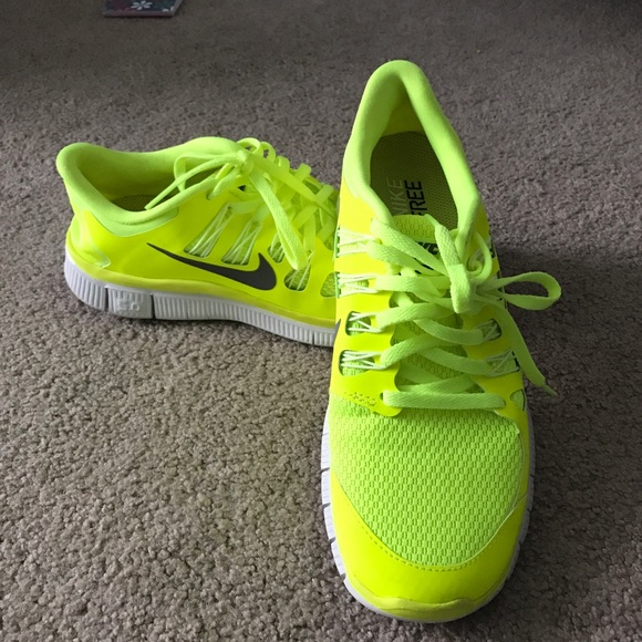 Nike Shoes | Nike Free 5 In Highlighter