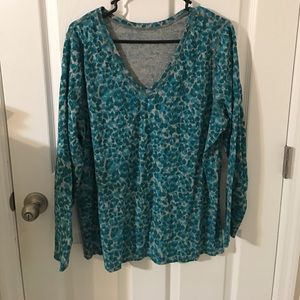 Lane Bryant long sleeved shirt