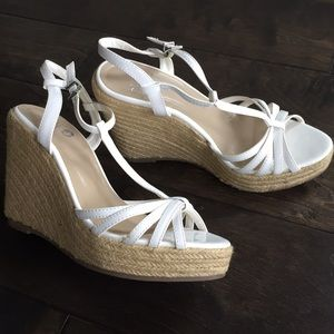 Colin Stuart Shoes - Colin Stuart white espadrilles