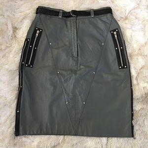 Harley-Davidson Dresses & Skirts - Vintage Leather Harley Davidson Pencil Skirt