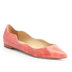 Loeffler Randall Shoes - Loeffler Randall Scallop Flat