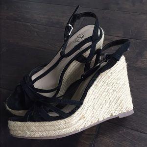Colin Stuart Shoes - Colin Stuart black espadrilles