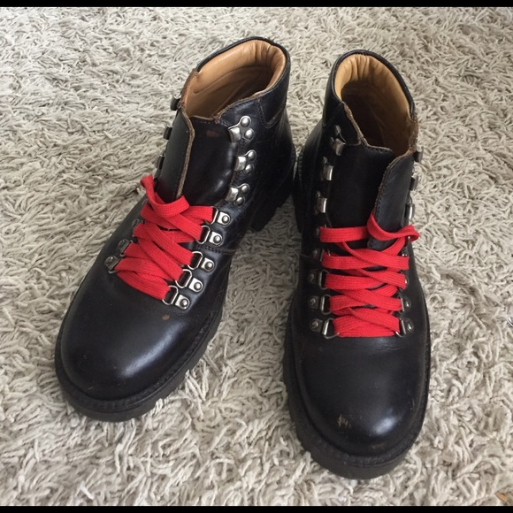 J. Crew Other - J Crew Italian Leather Alpine Hiking Boots c393cfef4