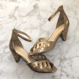 Seychelles Shoes - Seychelles Astonish in Metallic