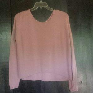 Helmut Lang Sweaters - Helmut Lang pink sweater sz P