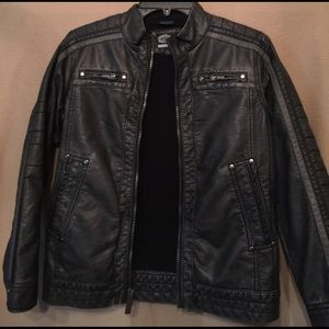 First Wave Other - Boys black faux leather