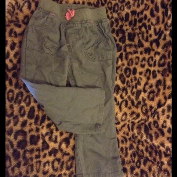 Clothing, Shoes & Accessories Baby & Toddler Clothing Circo Girls Toddlers Size 4t Olive Green Shorts Cargo Stretch Waist