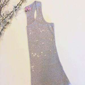 love on a hanger Tops - Love on a Hanger sequined tank top