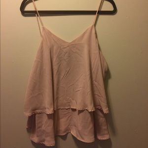 mossimo black Tops - Light Pink Blouse