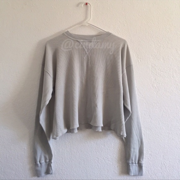 2a7aae18203a Brandy Melville Sweaters - Brandy Melville Laila light pastel blue thermal