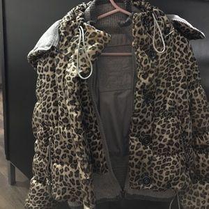 MONA LISA Jackets & Blazers - Monalissa European Leopard print toddler/kid coat