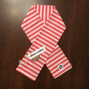 Mini Rodini Other - New mini rodini stripe scarf / pink