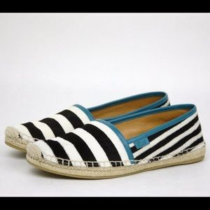 Gucci Shoes - Gucci Black and white pony hair espadrilles