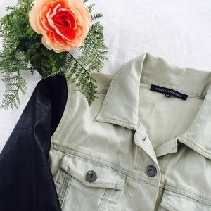 Foreign Exchange Jackets & Blazers - Cute faux leather and jean jacket