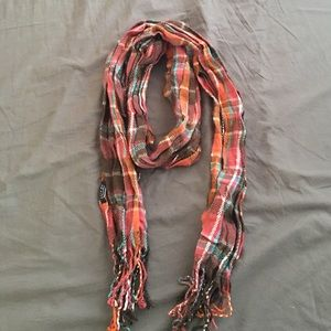 Heritage 1981 Accessories - Plaid Woven Flannel Crinkle Scarf