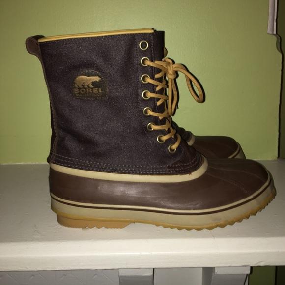 6ebe159e8c6 Men's Brown Sorel waterproof boots