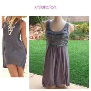 BUNDLE MEXhilaration Sequin Stripe Tank Dress