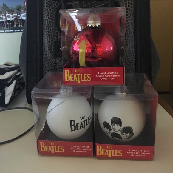 "Handmade ""The Beatles"" Christmas Ornament!"