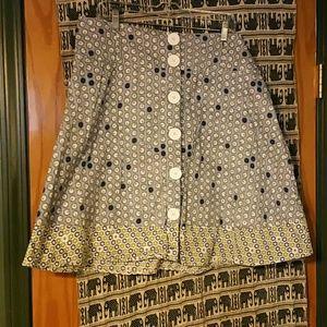 Vintage Dresses & Skirts - Retro print skirt