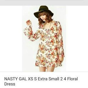 Beautiful nasty gal dress