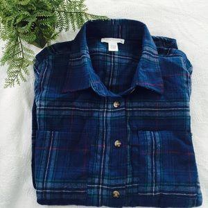 Full Tilt Tops - Soft flannel button down top (NWOT)