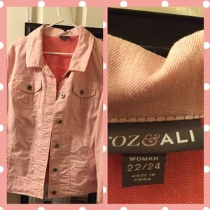 Jackets & Blazers - 🍑 peach colored l jacket🍑