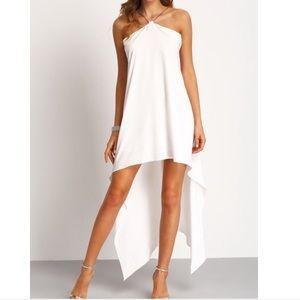 Haute Ellie Dresses & Skirts - 🆕 Asymmetrical Hem Chain Halter