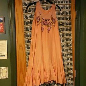 Vintage Dresses & Skirts - Orange dress