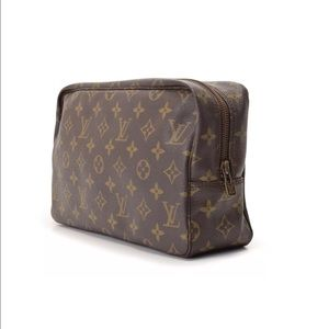 Authentic LV Monogram Trousse Toilette 28 Pouch